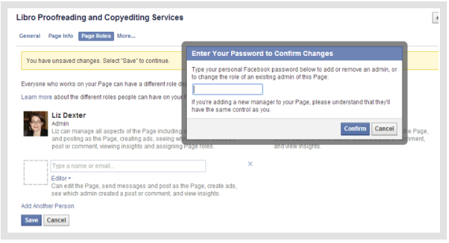 How Do I Add An Admin to My Facebook Page