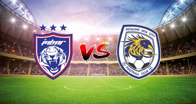 Live Streaming JDT FC vs PJ City FC 10.4.2021 Liga Super