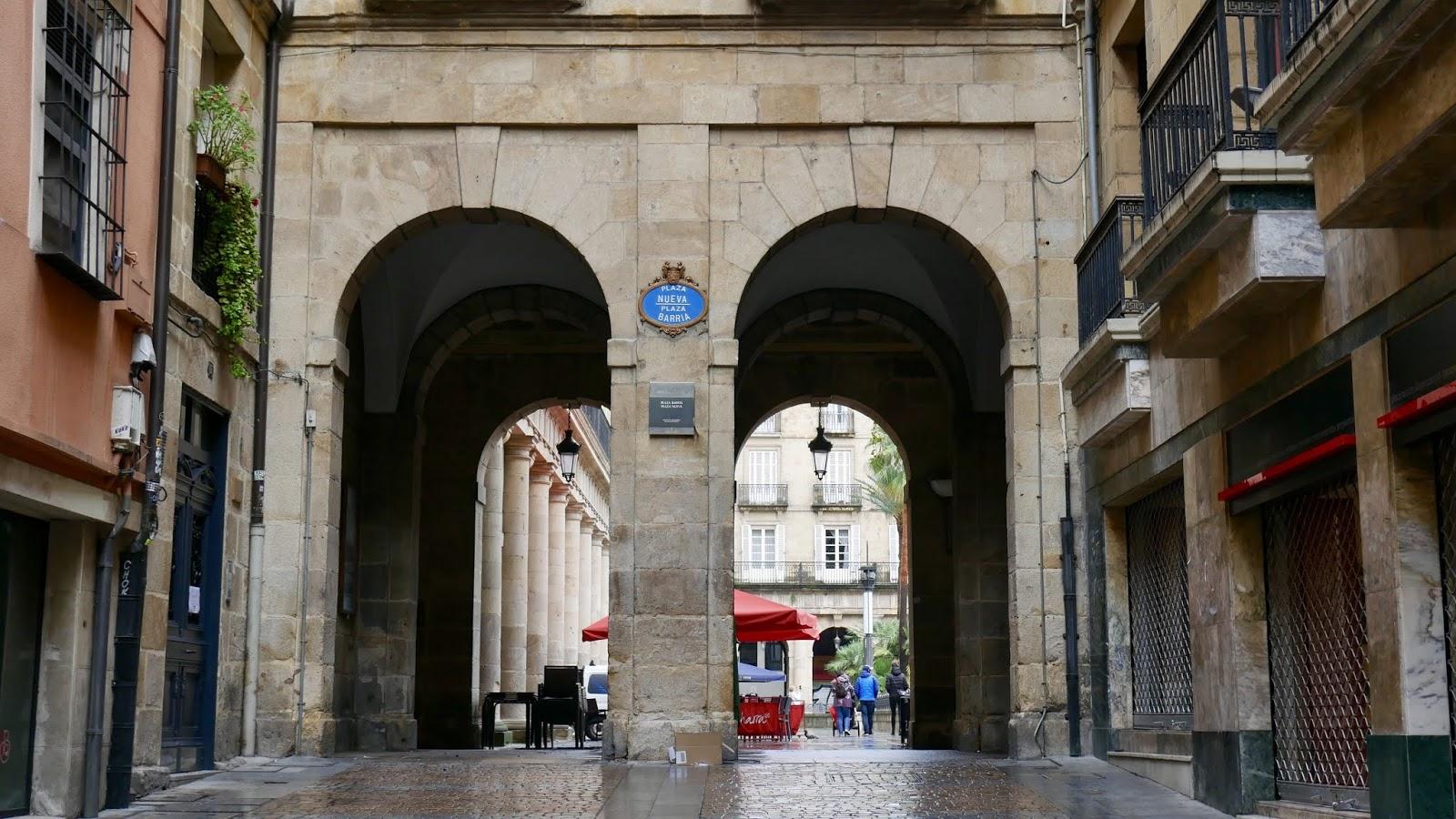 Plaza Nueva Bilbao País Vasco España