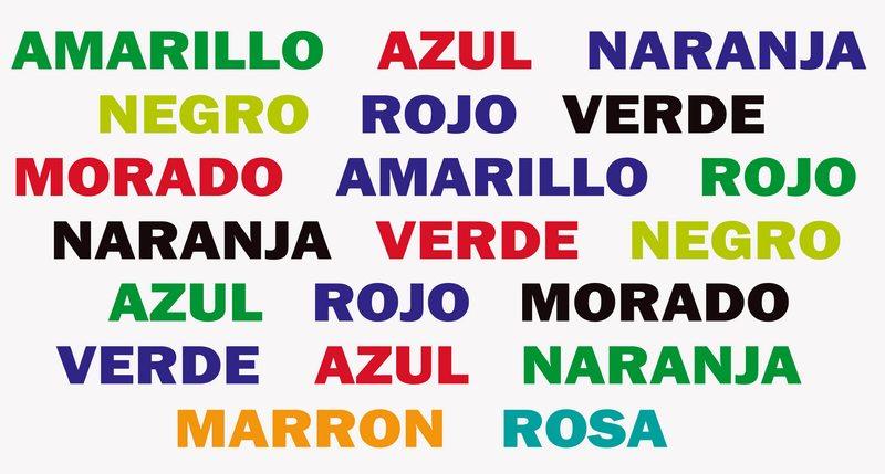 Por qué primero leemos las palabras y después vemos los colores en este ejercicio cerebral