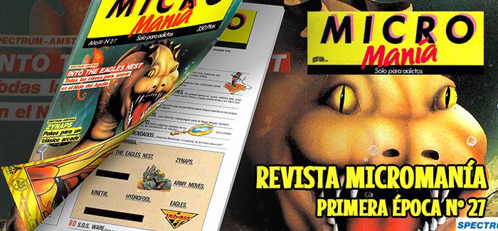 Revista Micromanía Primera época Nº 27 (1987)
