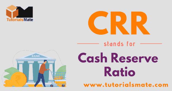 CRR Full Form