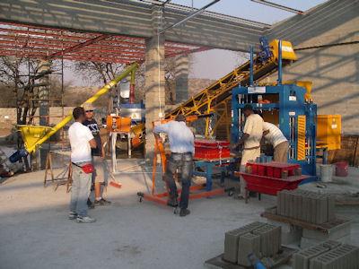 concrete block making machine for India & Bangladesh