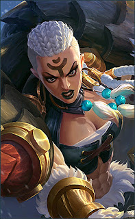 Hilda Power of Wildness Heroes Fighter Tank of Skins V1