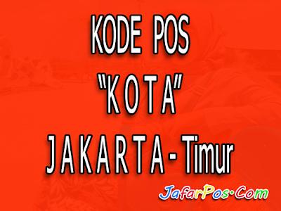 kode Pos Jakarta, kode pos jakarta timur, jakarta, informasi jakarta