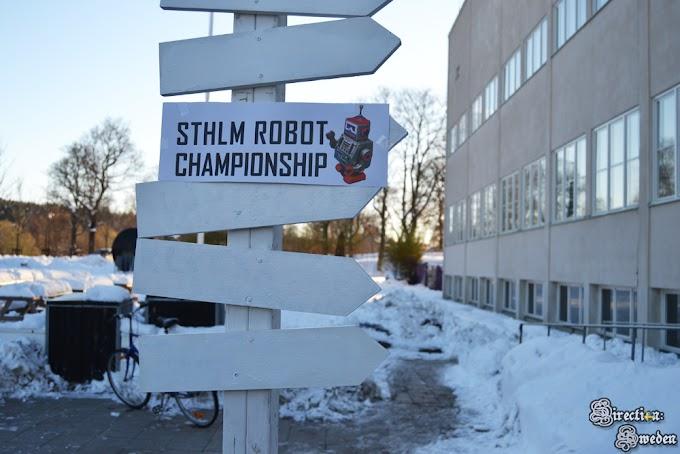Robot Championship i zima w Sztokholmie