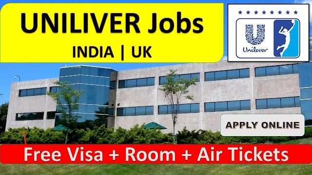 Unilever Jobs In INDIA & UK - 2020