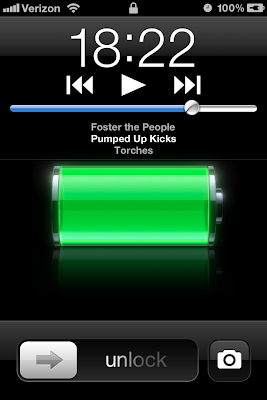 Discovery - How to Quick Access Music and Camera Lock Screen iPhone 4S
