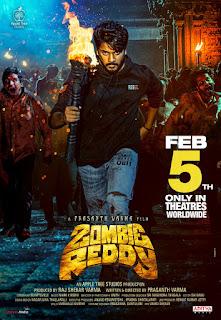 Zombie Reddy 2021 Hindi Dubbed 1080p WEBRip