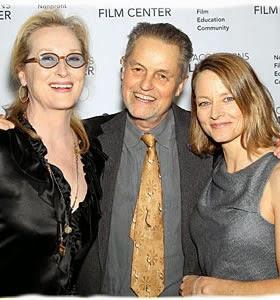 Meryl Streep y Jodie Foster Honran a Jonathan Demme