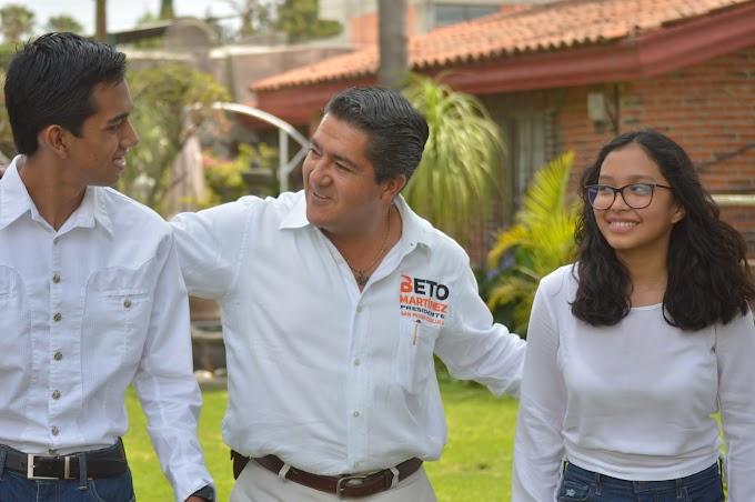 Lanza candidato de MC spot de petición de voto a los ciudadanos de San Pedro Cholula