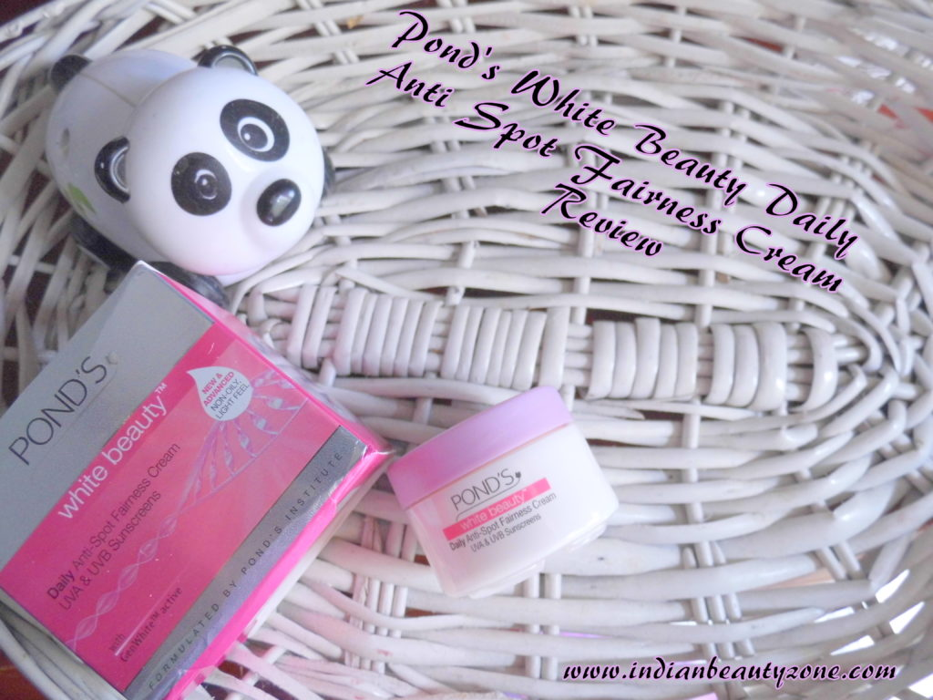 Ponds White Beauty Daily Anti Spot Fairness Cream Review