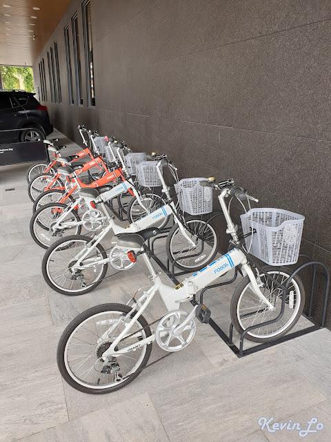 康橋慢旅提供腳踏車免費租借的服務