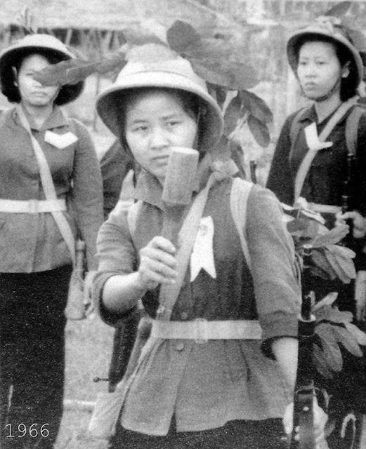Long Hair Warriors 30 Vintage Photographs Of Female Viet