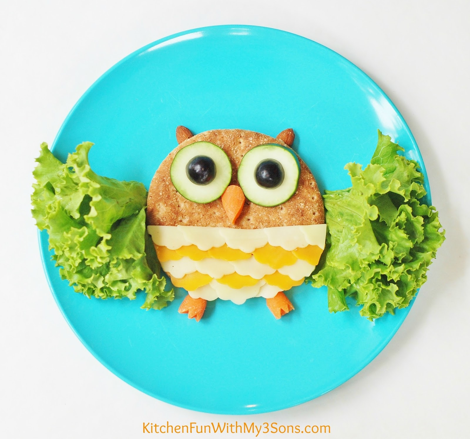 Small Eat In Kitchen Ideas Kids Healthy Owl Lunch Kitchen Fun With My 3 Sons