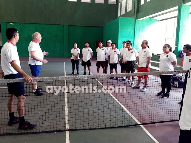 Pelti Sulut Gelar ITF Play Tennis Course