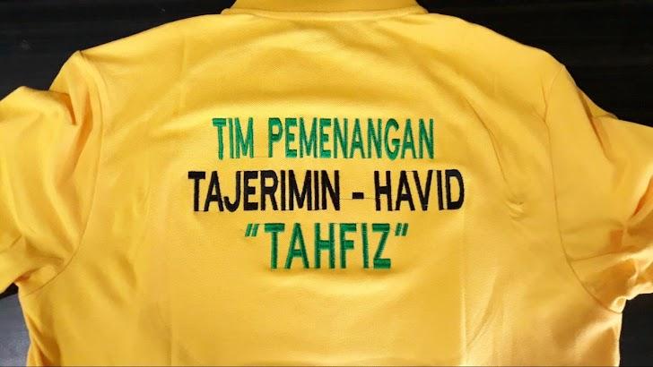 Inilah Baju Tim Pemenangan Balon Bupati dan Wabup TAHFIDZ di Pilkada Kab Maros 2020