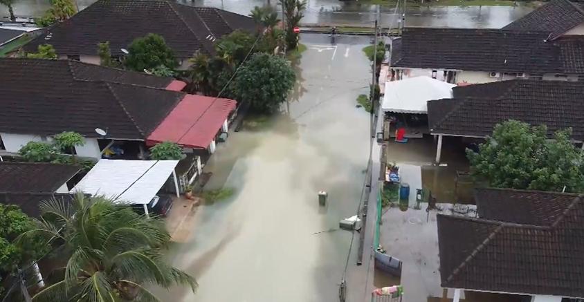 Banjir di Pahang Bertambah buruk