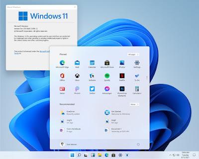 Download Windows 11 - Windows 11 Build 22000.71 Insider Preview