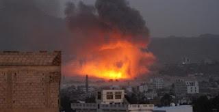 Koalisi Arab Serang Kamp Pelatihan Teroris Syiah Houtsi di Tenggara Sanaa