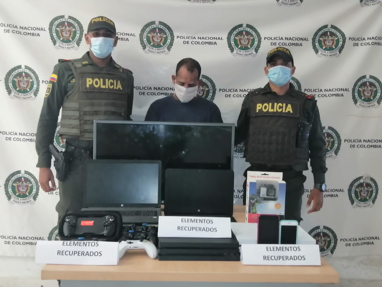hoyennoticia.com, Millonario robo recupero la Policía en Riohacha