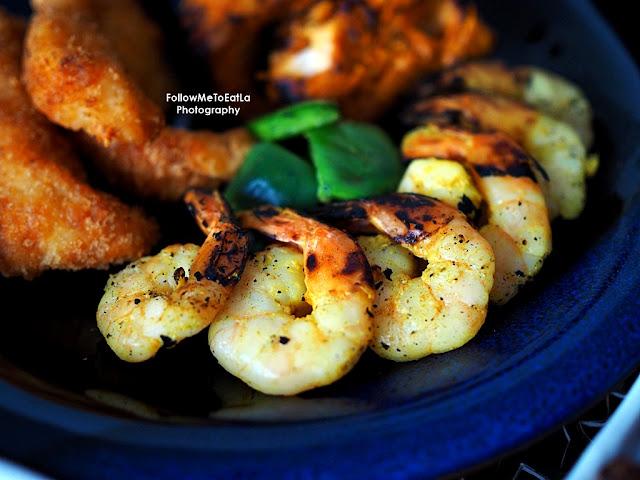 BBQ Chilli Garlic Prawns (6pcs)