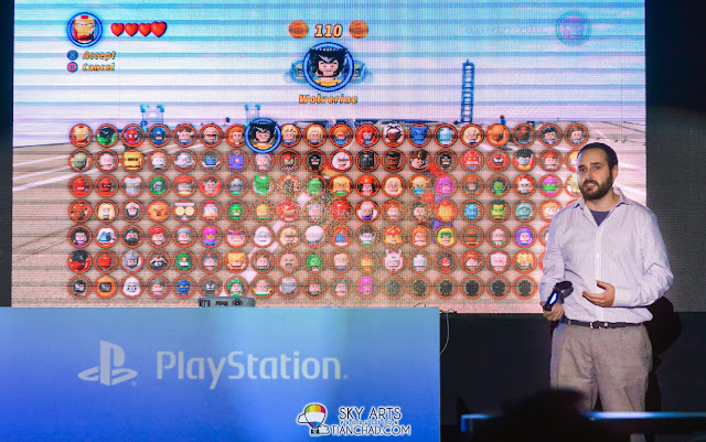 Mr. Philip Ring, the senior producer of TT Games introducing this LEGO and Marvels combined PS4 game