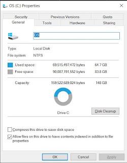 disk clean up windows
