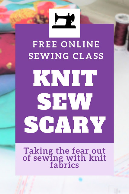 Learn how to sew knits with these tips and tricks and free online knit fabric sewing course for beginners.