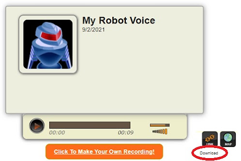 Merubah Suara Menjadi Suara Robot