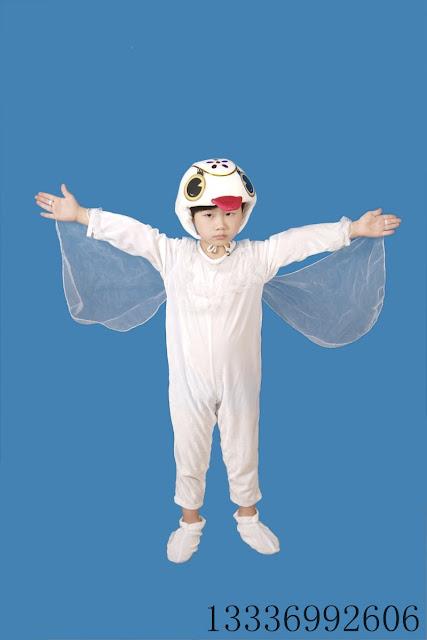 Disfraz casero de ganso, muy fácil