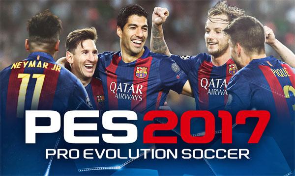 تحميل لعبة PES 2017 مجانا