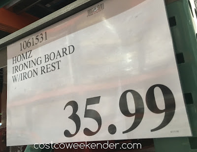 Deal for the Homz Professional Wide Top Ironing Board at Costco