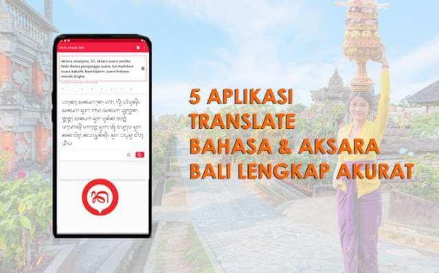 Aplikasi Translate Bahasa Bali