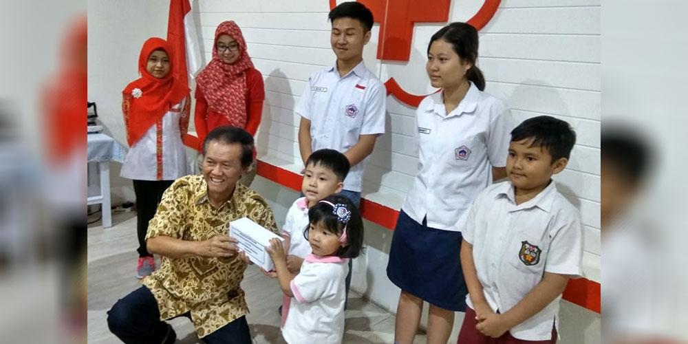 SKKK Surakarta Salurkan Bantuan untuk Lombok Melalui PMI