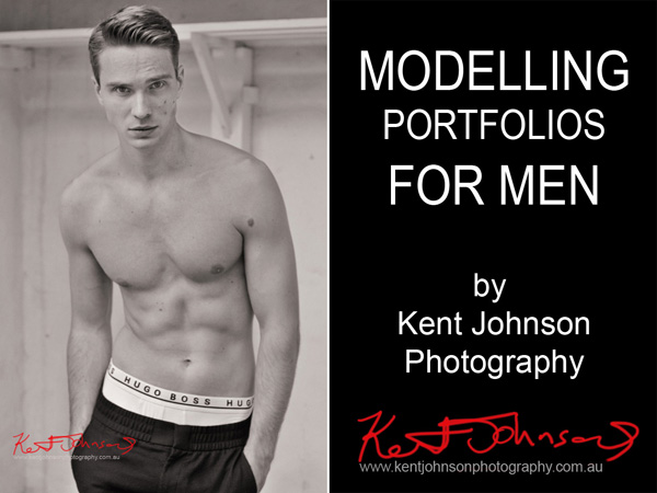 location male modelling, model portfolios for men by Kent Johnson, Sydney, Australia.