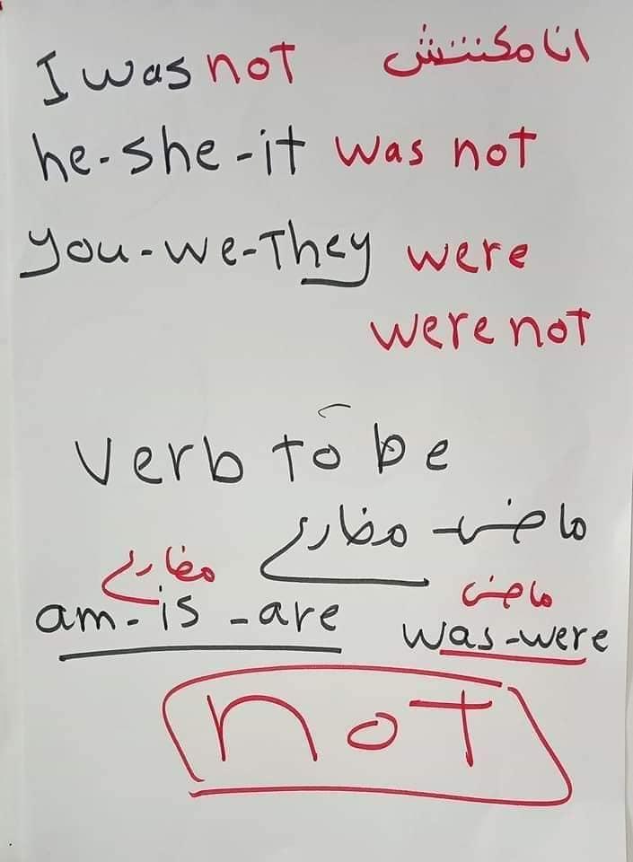 اساسيات جرامر - الضمائر الاساسيه في اللغه الانجليزيه واستخدام verb to be 8