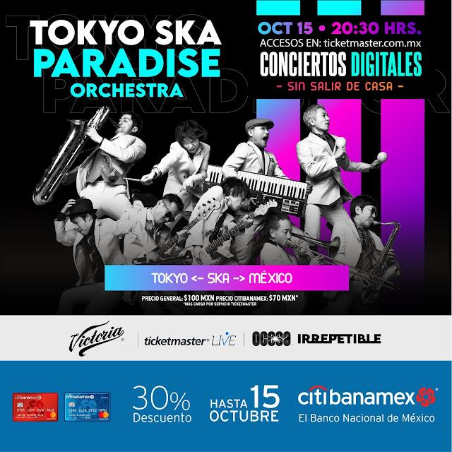 """Tokyo Ska Paradise Orchestra ofrecerán un show en streaming """"Irrepetible"""""""