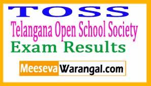 Telangana Open School Society TSOSS Exam Results 2017