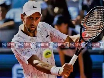 TopNews11.com - Novak Djokovic, the world's No. 1-ranked men's tennis player,
