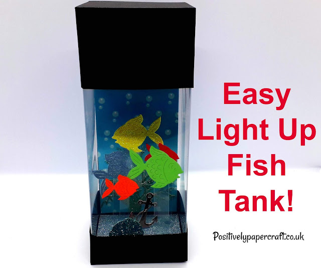 Light up fish tank tutorial