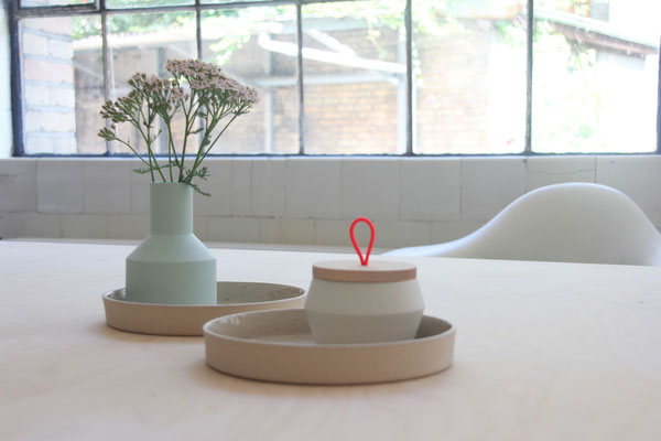 On my wishlist: KULØR ceramics