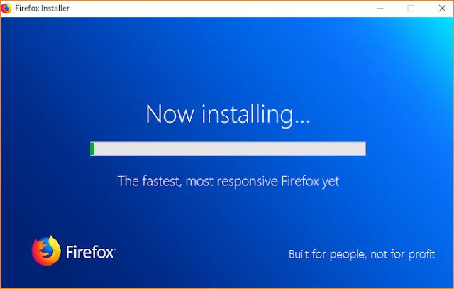 تثبيت متصفح فايرفوكس علي الكمبيوتر كامل