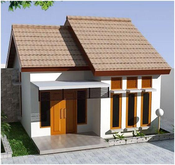 20 Inspirasi Rumah Minimalis 1 Lantai Dengan Atap Pelana Menyamping