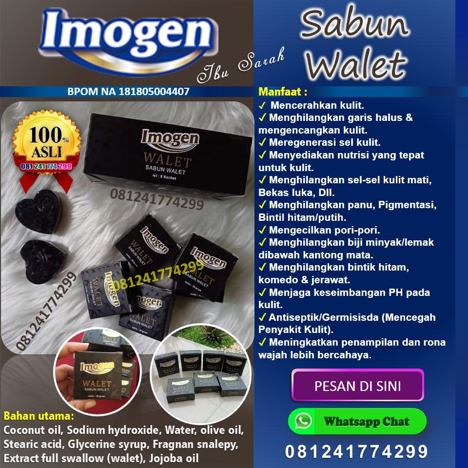 Imogen sabun black walet