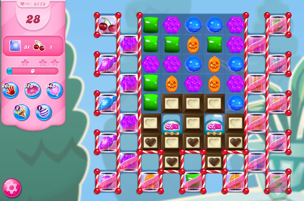 Candy Crush Saga level 8173