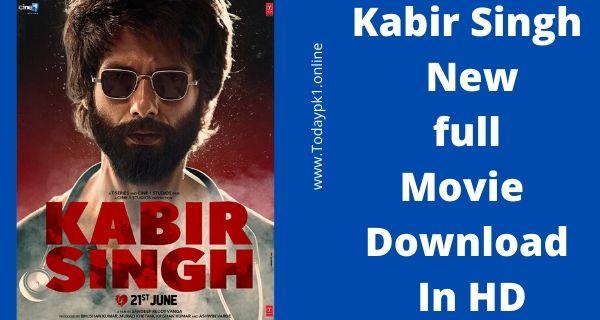 Kabir Singh Full Movie Download HD 720p