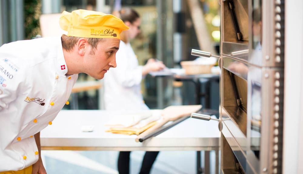 Simon Peter, Hof-Bäcker: «Genug Ruhezeit macht den Teig geschmacklich besser»
