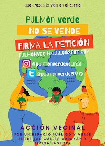 cartel pulmon verde