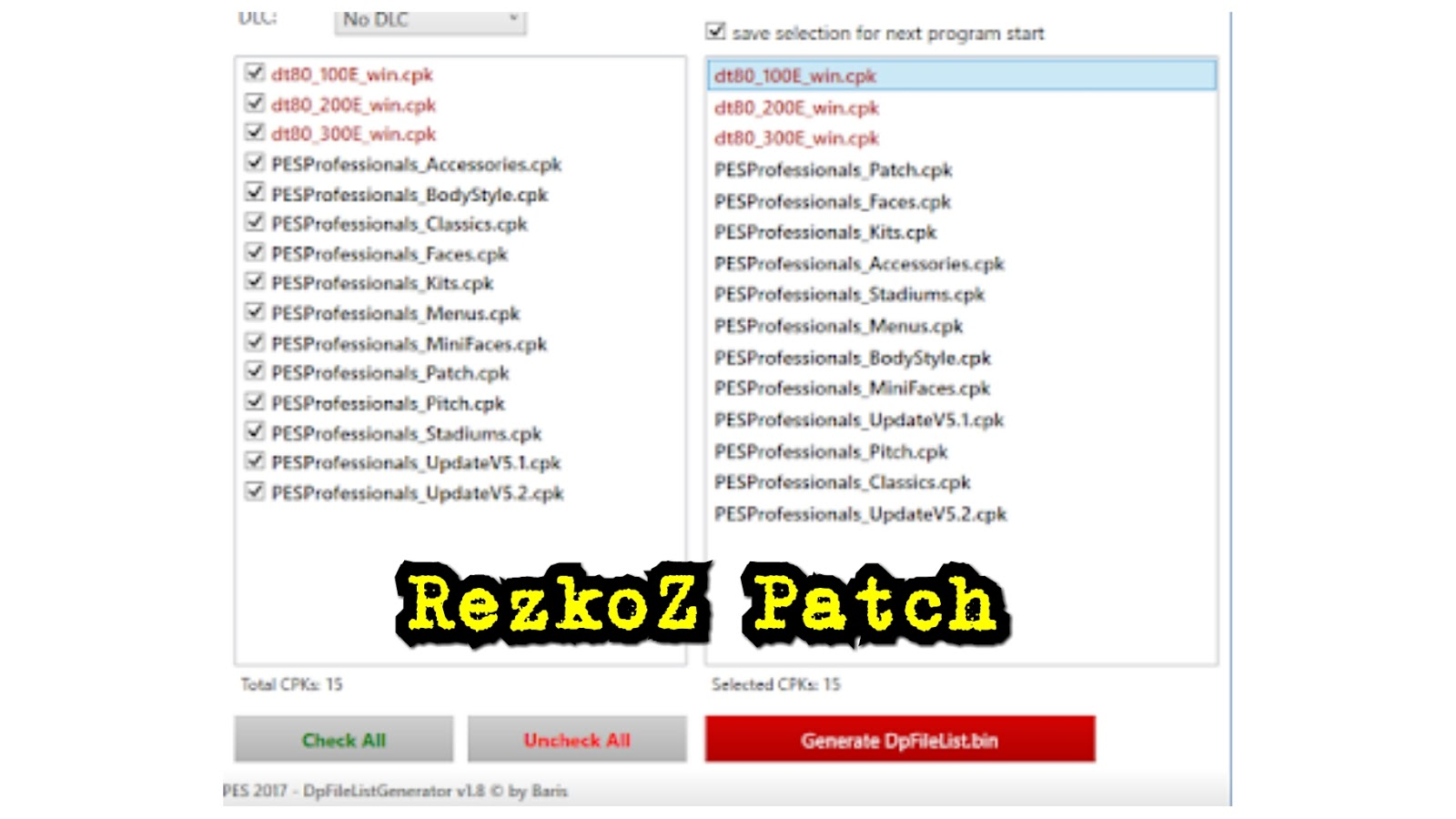 PES 2017 Professionals Patch Update V5 2 + Fix